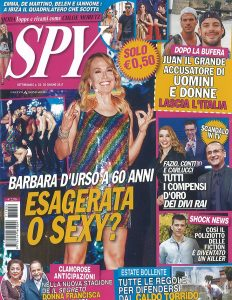 SPY n2 venerdì 30 giugno 2017 copertina