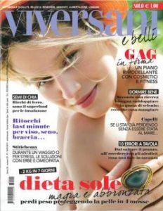 viversani e belli n29 del 14 luglio copertina